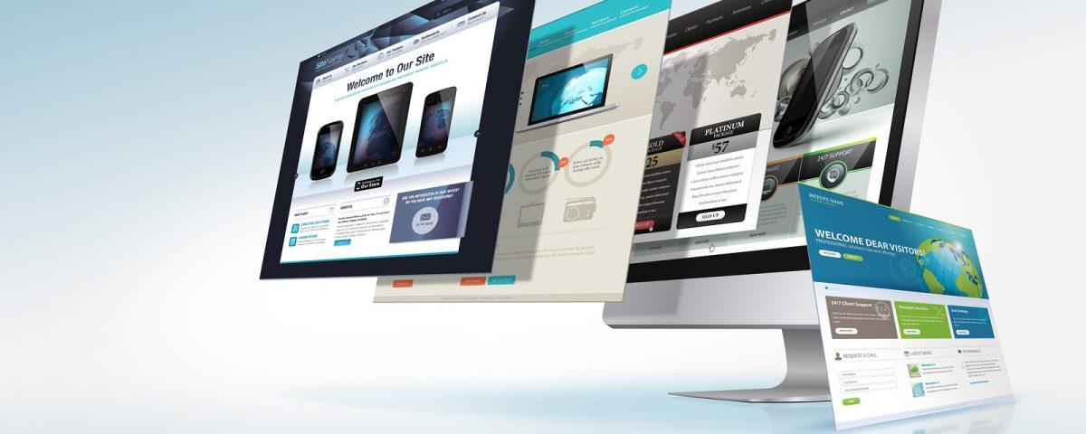 طراحی انواع سایت های اینترنتی حرفه ای